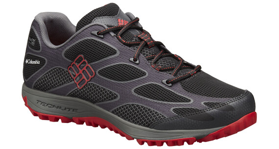 Columbia Conspiracy IV Shoes Men Outdry black / bright red